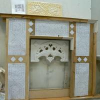 Модель углового камина Феникс