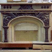 Модель дровяного камина