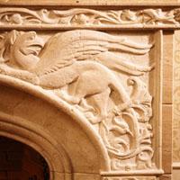 Деталь дровяного камина