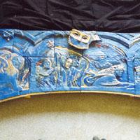 Керамическая деталь камина