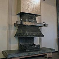 "Трехсторонний камин ""Гильдия"""